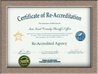 Certificate of Re-Accreditation