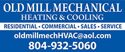 Old Mill Mechanical Healting & Cooling, Residential, Commercial, Sales, Service