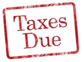Taxes Due Stamp