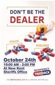 Drug Take Back Event Flyer