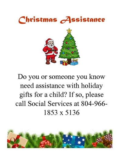 Christmas Assistance