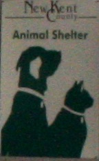 New Kent County Animal Shelter sign